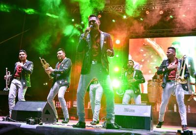 El concierto fue en la Plaza Mayor.