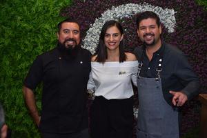 Javier, Cynthia y Fer
