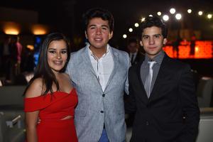 Paulina, Gonzalo y Diego