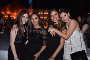 Sara, Katia, Paulina y Regina