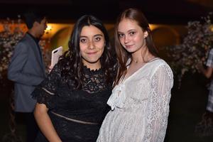Sofía y Ana Victoria