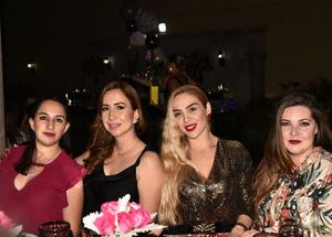 Diana, Faride, Gaby y Fabiola