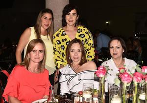 Pily, Ana, Tere, Susana y Rocío