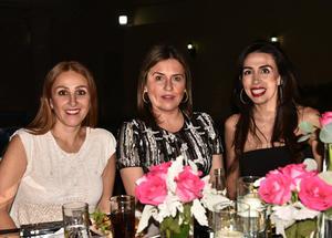 Sandra, Cristy e Iris