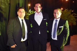 Sebastián, Alan y Luis