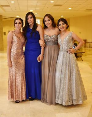 Alexa Castro, Yamile Vázquez, Allison Jara y Estefanía Pacheco