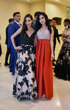 Fátima Mena y Daniela Morales