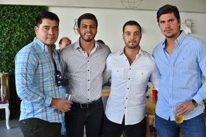 Lalo, Tony, JC y Omar