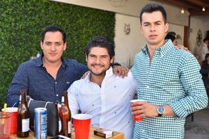 Luis, Freddy y Carlos