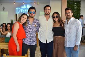 Marisol, Pepe, David, Anafer y Pepe
