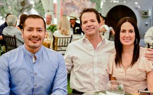 José Luis Orozco, Fernando e Ileana Jalife