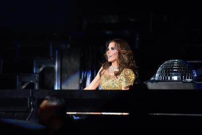 La regiomontana ofreció en Torreón su gira Diosa de la noche.
