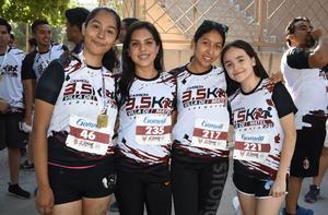 25052019 América, Evelin, Paola y Grisel.