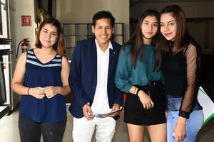 25052019 Edith, Adrián, Laura y Karen.