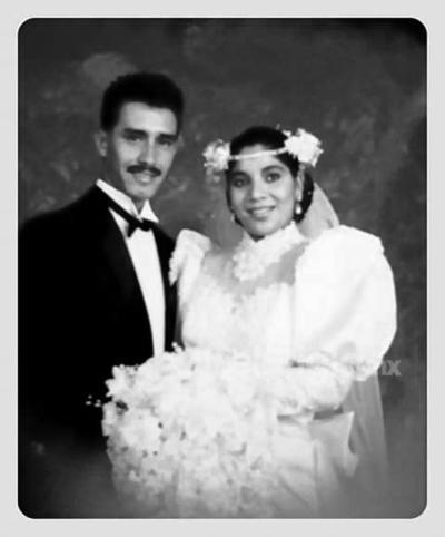 José Alfredo de Santiago Calvillo y Leticia Jaramillo López. 22 de mayo de 1993.
