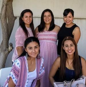 27052019 BABY SHOWER.  Arya Chávez con sus amigas.
