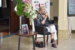 28052019 La reconocida escritora Guadalupe Loaeza.