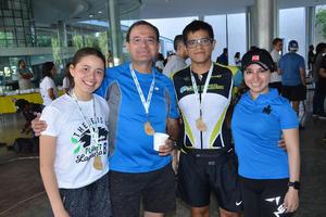 28052019 Sofía, Fernando, Edmundo y Sarahí.