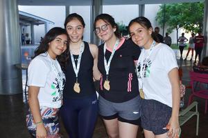 28052019 Regina Trejo, Paulina Torres, Karla Triana y Mariana García.