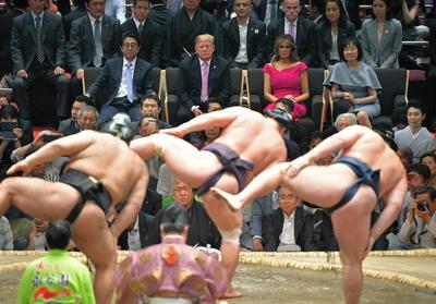 Presenció actos tradicionales de Japón.