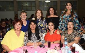 29052019 Vero, Silvia, Gina, Anita, Araceli, Blanca, Elida y Graciela.