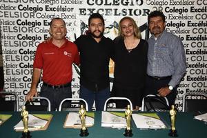 29052019 Martín Álvarez, José Luis Rivera, Lorena Torres y Alejandro Alvarado.