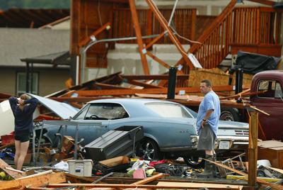 La temporada de tornados sigue afectando a EUA.