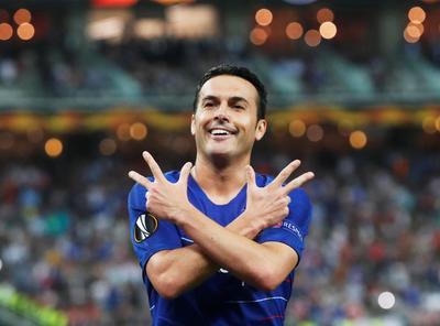 El español Pedro aumentó la ventaja del Chelsea en el minuto 60 al aprovechar un pase de Hazard.