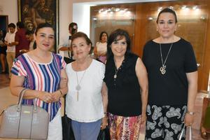 30052019 Angélica, Angélica, Tete y Cristina.