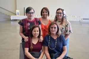 30052019 Tere, Rocío, Ale, María Ángeles y Lourdes.