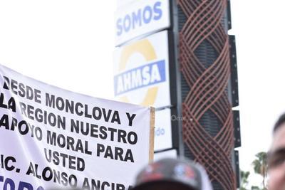 Monclova se moviliza en apoyo a AHMSA