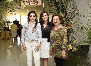 31052019 JARDINERAS.  Carmen, Elena y Tita.