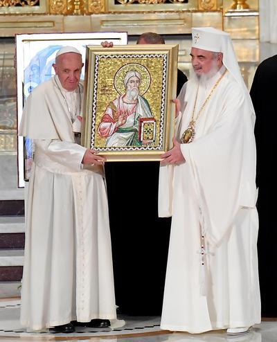 El papa defendió el acercamiento de posturas entre ambas iglesia.
