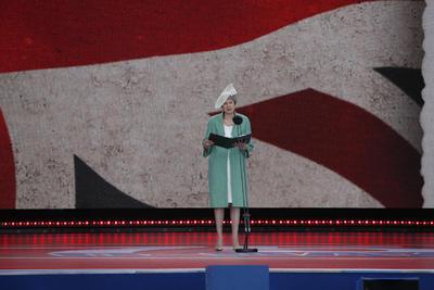 La primera ministra Theresa May, ofreció unas palabras, a horas de dimitir.