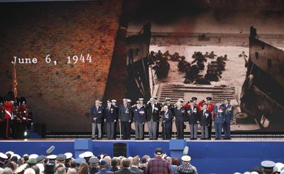 Los homenajeados fueron aclamados en Portsmouth por la valentía y el sacrificio que mostraron.