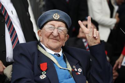 Algunos veteranos de guerra británicos, que ahora tienen más de 90 años, compartieron sus experiencias.