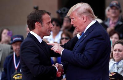 Trump aprovechó para ensalzar el 'vínculo irrompible' de los aliados.