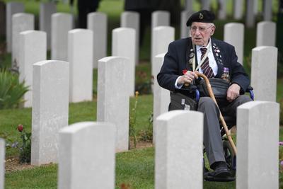 Veteranos recordaron el hecho histórico.