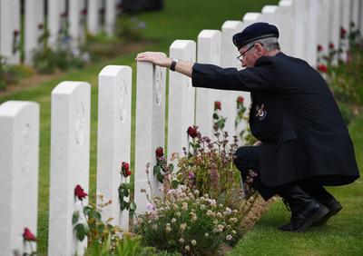 Rindieron homenaje a los héroes caídos.