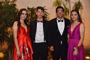 Sofía, Ignacio, Abdo y Monica