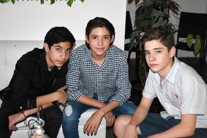 Antonio, Sebastián y Marco