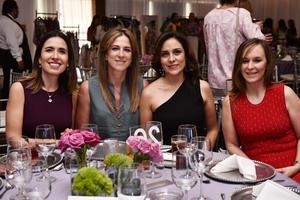 Gaby, Gisela, Silvia e Isabel