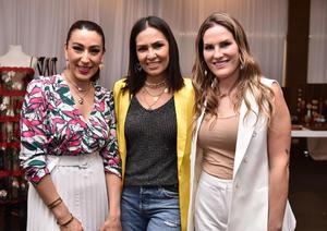 Kenia, Claudia y Samantha