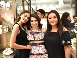 Brenda, Tamara y Andrea