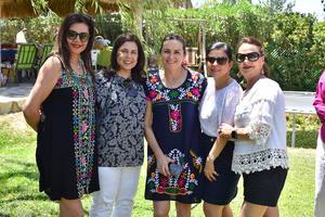 Coco, Mary, Vero, Cecy y Pilar