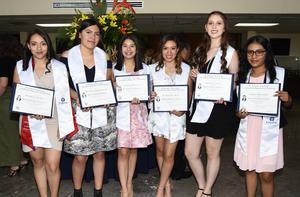 Mónica, Danna, Sarahí, Ana Karen, Natalia y Ruth