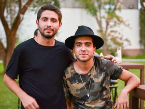 Juan Pablo y Adrián