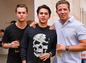 Ricardo, Nicolás y Paco