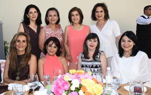 Nora, Diana, Gaby, Maru, Cecy, Alma, Lety y Mayela