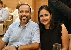 Armando Mercado y Marcela Atala